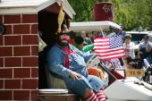 Shriner Clown In Boatnik Parade