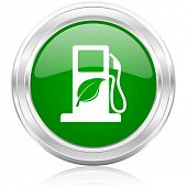 stock photo of ethanol  - biofuel icon - JPG