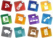 Business Communication Sticker Set