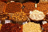 Nuts Stall In A Traditional Market