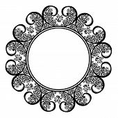 Beautiful Decorative Round Frame