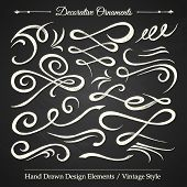 Decorative Ornaments - Chalkboard 1