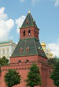 Taynitskaya (water) Tower Of Moscow Kremlin