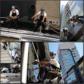 Facade Cleaning - Collage