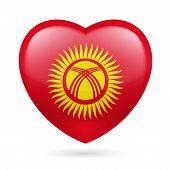 Heart icon of Kyrgyzstan