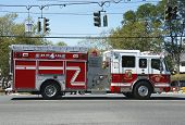 Huntington Manor Fire Department fire truck