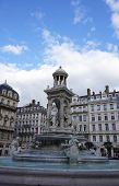 The Jacobin's fountain in Lyon, France
