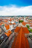 Panorama of Munich, Bavaria, Germany