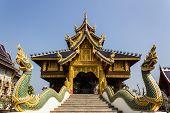 Chapel In Wat Banden, Chiangmai Thailand
