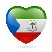 Heart icon of Equatorial Guinea