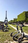 Trikke Vehicles In Paris