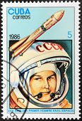 Tereshkova Stamp