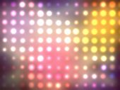 Glowing Multicolored Abstract Background.