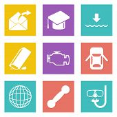 Icons for Web Design set