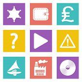 Icons for Web Design set