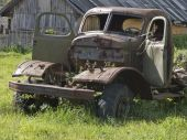Old Abandoned Lorry