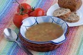Italian Vegetarian Lentil Soup