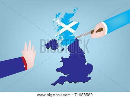 Scotland Independence from Great Britain poster