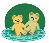 Two little Teddy Bears