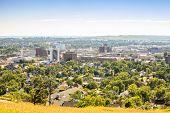 Landscape Of Rapid City, South Dakota.