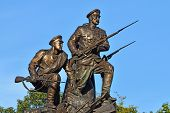 Monument To The Heroes Of The First World War. Kaliningrad, Russia