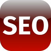 Red Seo Icon For Web App