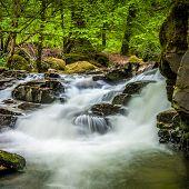 Waterfalls on The Birks