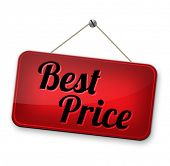 best price sign low price or bargain special offer web shop promotion