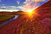 Beautiful Landscape Of Scottish Nature