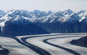 Glaciers At Kluane National Park, Yukon, Canada poster