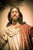 Sacred Heart of Jesus sculpture in Portugal