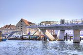 Building Of Bridge Is In City Copenhagen