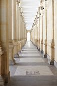 Corridor With Columns