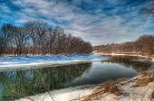 Minnesota River Wintertime