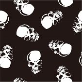 skull and paint,