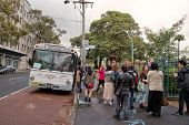 Free bus to Hillsong church service