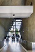 Entrance Hall In Museum Of History Of Polish Jews In Warsaw