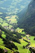 Rural landscape of Heiligenblut, North Tyrol, Austria, Europe