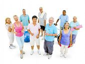 Senior Adult Staying Fit
