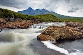 pic of chute  - A small river on the Isle of Skye - JPG
