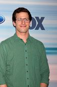 LOS ANGELES - SEP 8:  Andy Samberg at the 2014 FOX Fall Eco-Casino at The Bungalow on September 8, 2014 in Santa Monica, CA