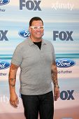 LOS ANGELES - SEP 8:  Graham Elliot at the 2014 FOX Fall Eco-Casino at The Bungalow on September 8,