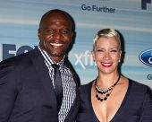 LOS ANGELES - SEP 8:  Terry Crews, Rebecca Crews at the 2014 FOX Fall Eco-Casino at The Bungalow on September 8, 2014 in Santa Monica, CA