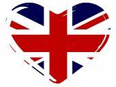 Union Flag Heart