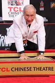 LOS ANGELES - SEP 8:  Mel Brooks at the Mel Brooks Hand and Foot Print Ceremony at TCL Chinese Theater on September 8, 2014 in Los Angeles, CA
