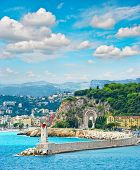 Mediterranean Resort, City Of Nice, Cote D'azur, France, Provence, French Riviera