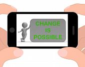 Change Is Possible Phone Means Rethink And Revise