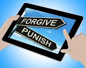 foto of punish  - Forgive Punish Tablet Meaning Forgiveness Or Punishment - JPG