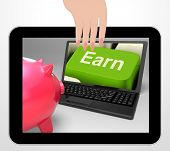 Earn Key Displays Web Income Profit And Revenue