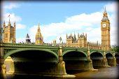 foto of westminster bridge  - the bridge across Themes - JPG